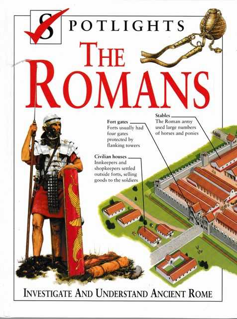 Image for Spotlights: The Romans: Investigate and Understand Ancient Rome