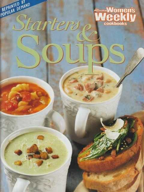 Image for The Australian Women's Weekly Cookbooks: Starters & Soups