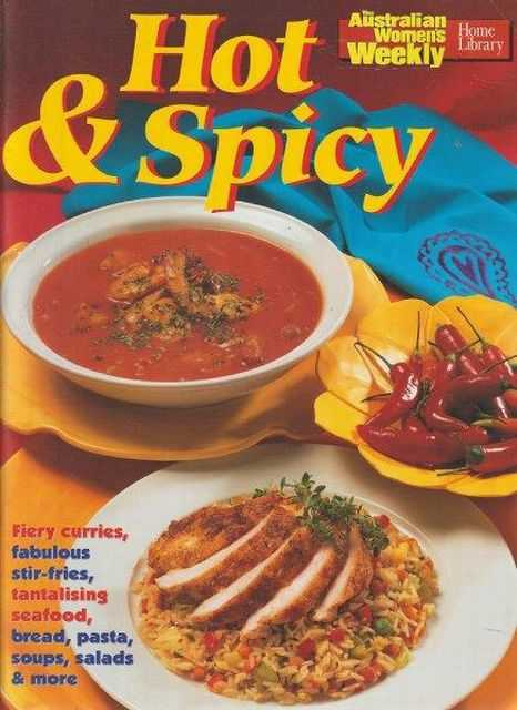 Image for The Australian Women's Weekly Cookbooks: Hot & Spicy