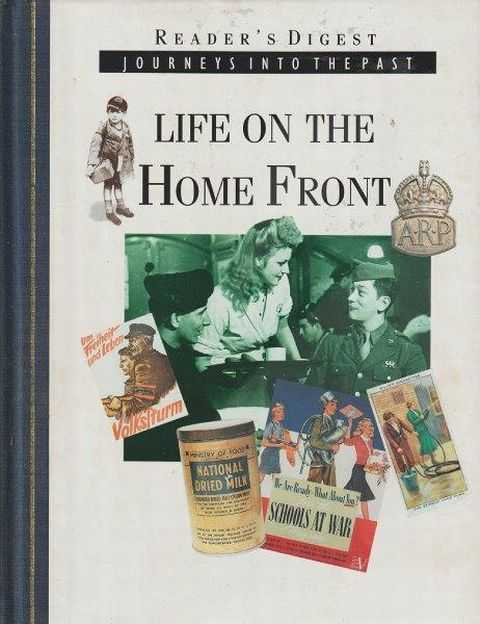 Image for Reader's Digest Journeys Into The Past - Life On The Home Front