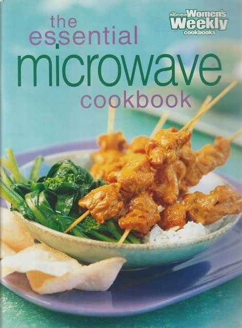 Image for The Australian Women's Weekly Cookbooks: The Essential Microwave Cookbook