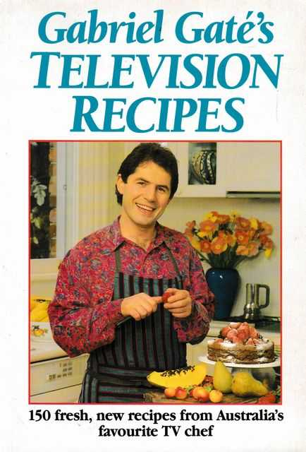 Image for Gabriel Gate's Television Recipes