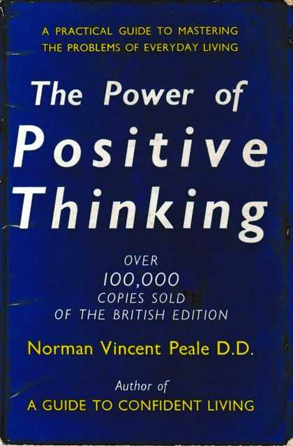 Image for The Power of Positive Thinking: A Practical Guide to Mastering The Problems of Everyday Living