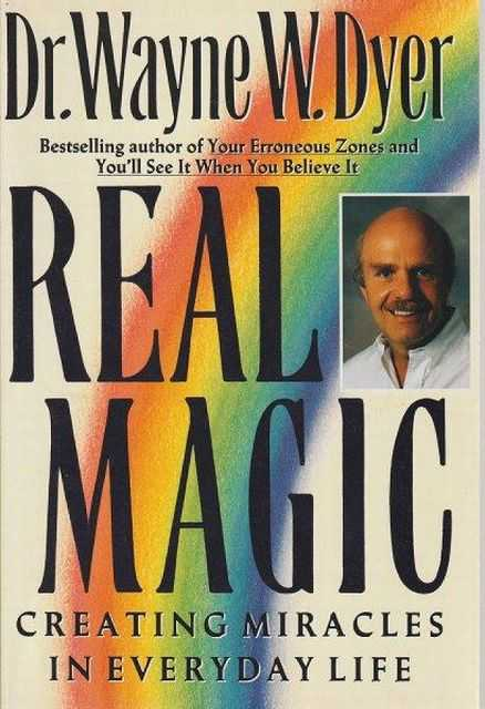 Image for Real magic - Creating Miracles In Every Life