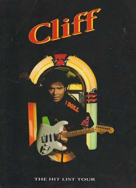 Image for Cliff Richard The Hit List Tour 1995 Program