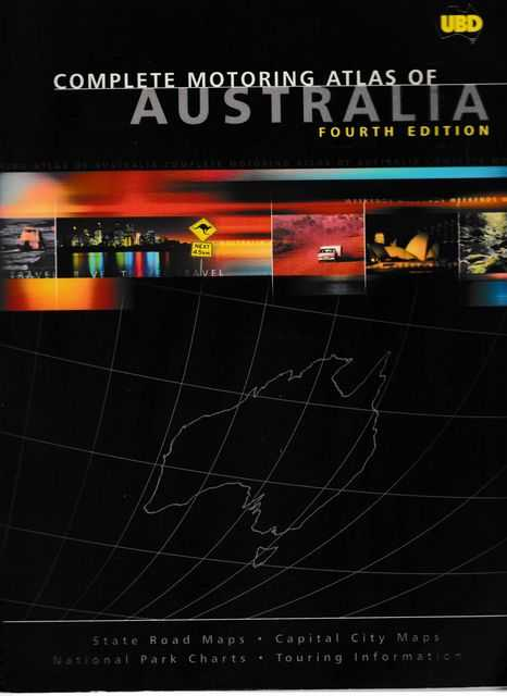Image for UBD Complete Motoring Atlas of Australia