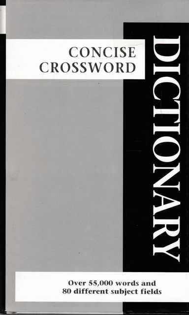 Image for Concise Crossword Dictionary [Pocket Reference Library]