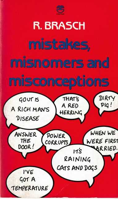 Image for Mistakes, Misnomers and Misconceptions