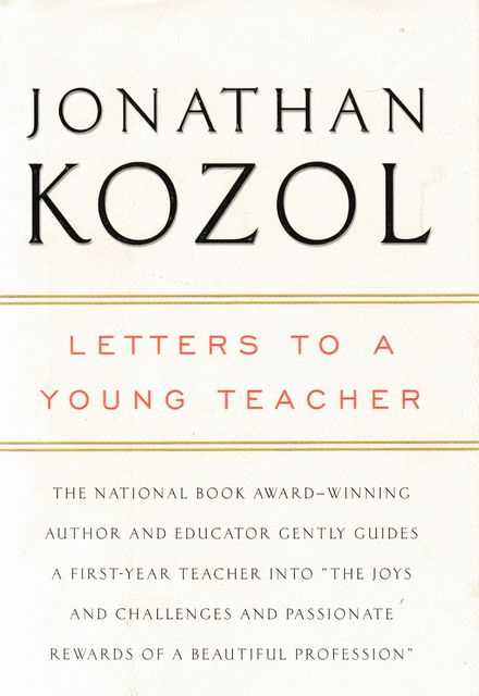 Image for Letters To A Young Teacher