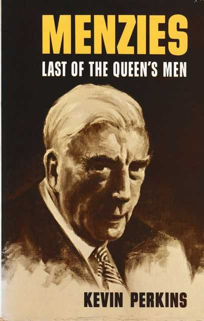 Image for Menzies: Last of the Queen's Men
