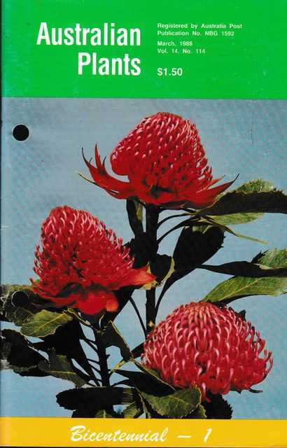 Image for Australian Plants March 1988 Vol 14 No 114