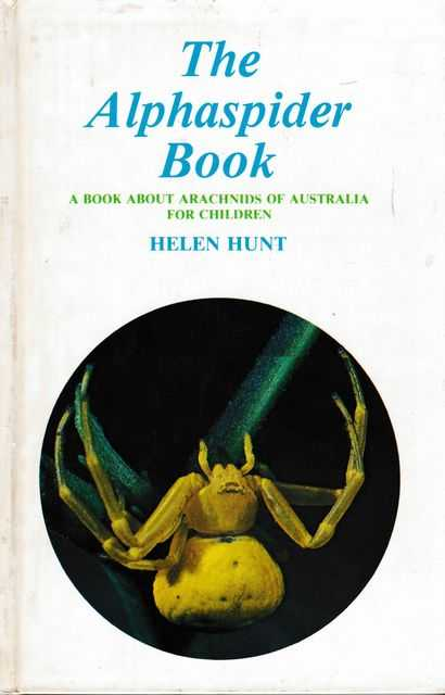 Image for The Alphaspider Book: A Book About Arachnids of Australia for Children