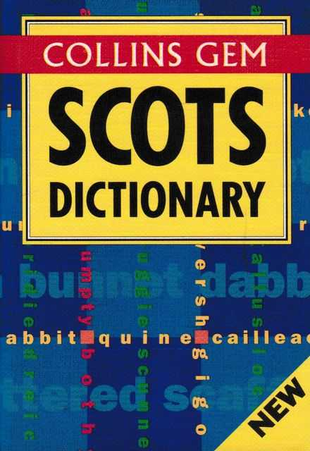 Image for Collins Gem Scots Dictionary