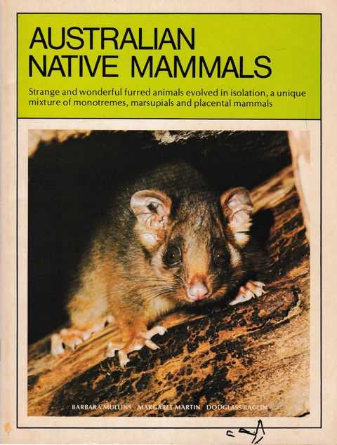 Image for Australian Native Mammals