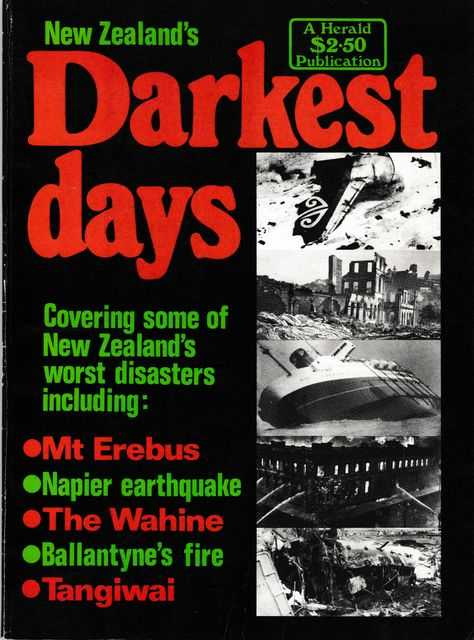 Image for New Zealand's Darkest Days