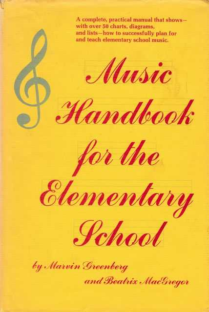 Image for Music Handbook for the Elementary School