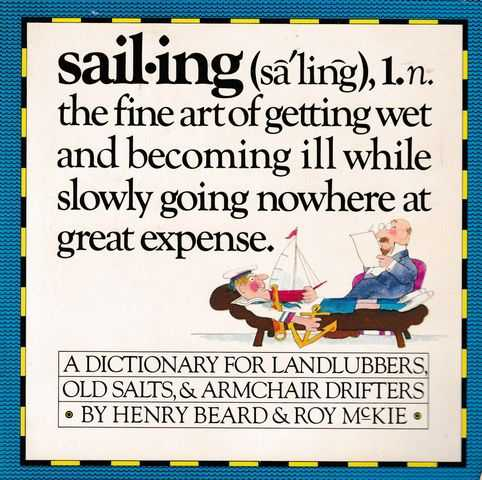 Image for Sailing: A Sailor's Dictionary