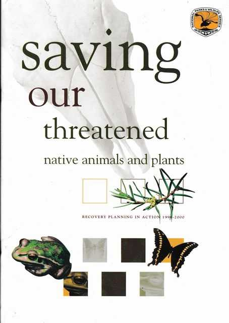 Image for Saving our Threatened Native Animals and Plants [Recover Planning in Action 1996-2000