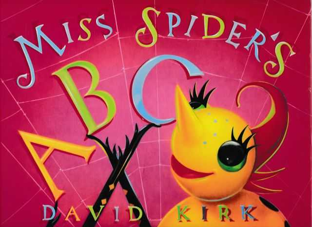 Image for Miss Spider's ABC