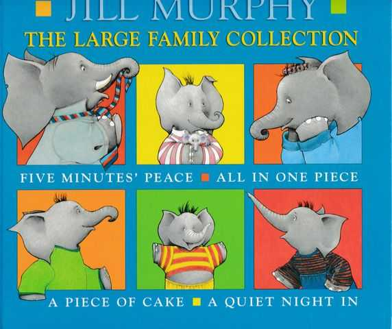 Image for The Large Family Album: Five Minute's Peace; All In One Piece; A Piece of Cake; A Quiet Night In