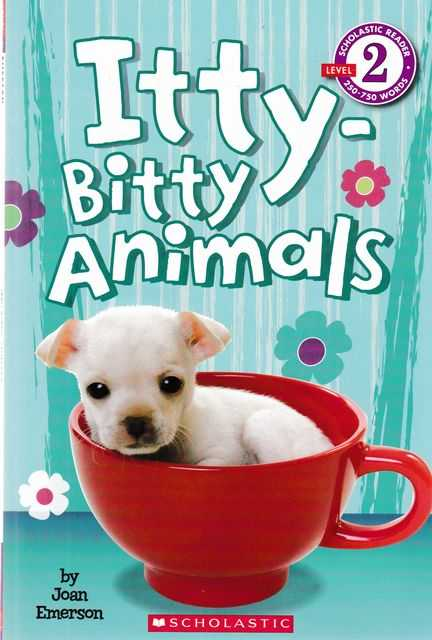 Image for Itty-Bitty Animals