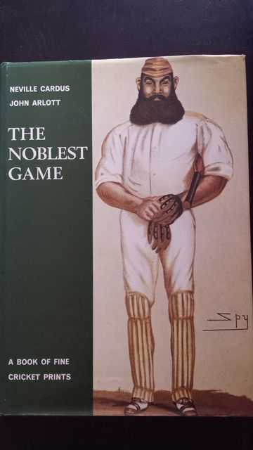 Image for The Noblest Game: A Book of Fine Cricket Prints