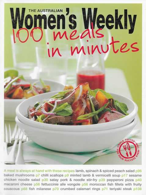 Image for 100 Meals in Minutes
