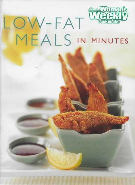 Image for Low-Fat Meals in Minutes