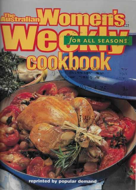 Image for The Australian Women's Weekly Cookbook For All Seasons