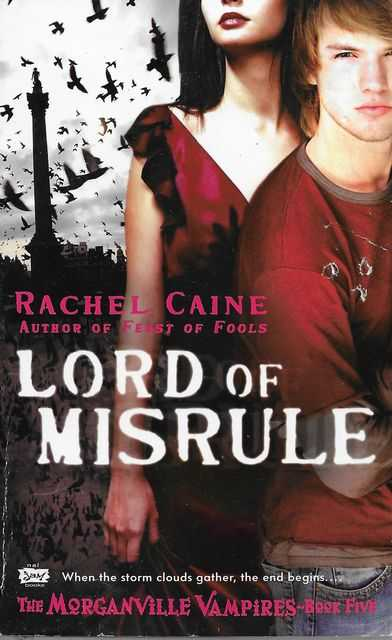 Image for Lord of Misrule [The Morganville Vampires Book Five]