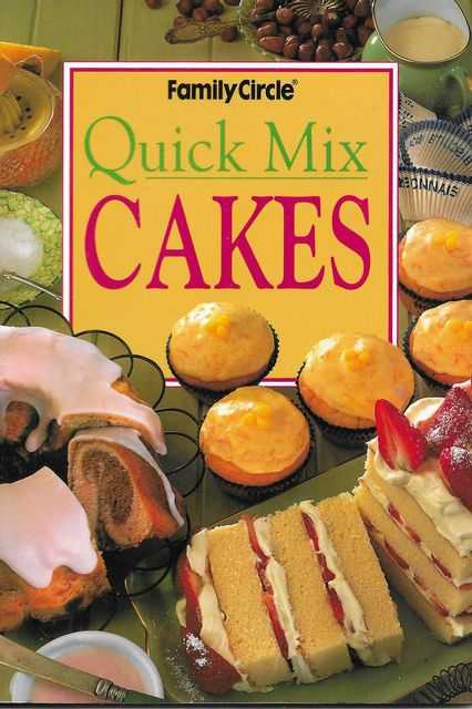 Image for Quick Mix Cakes