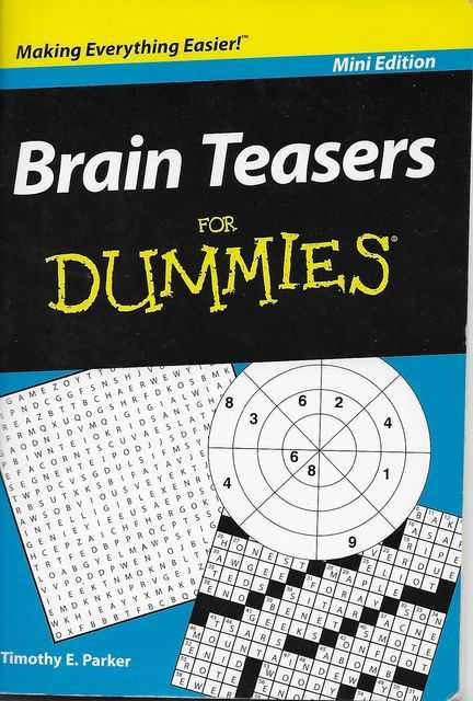 Image for Brain Teasers for Dummies [Mini Edition]