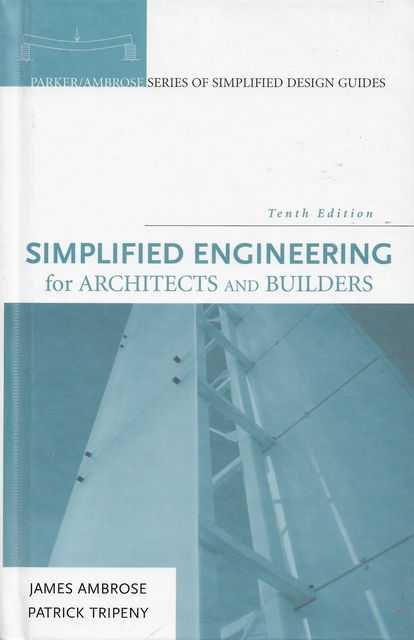 Image for Simplified Engineering for Architects and Builders