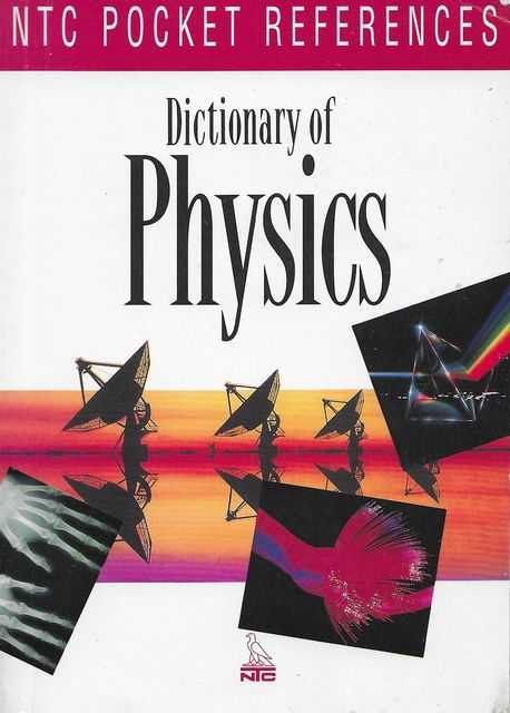 Image for Dictionary of Physics [NTC Pocket References]