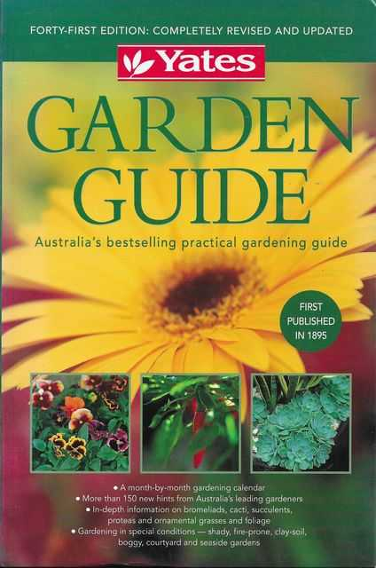 Image for Yates Garden Guide: Australia's Bestselling Practical Gardening Guide