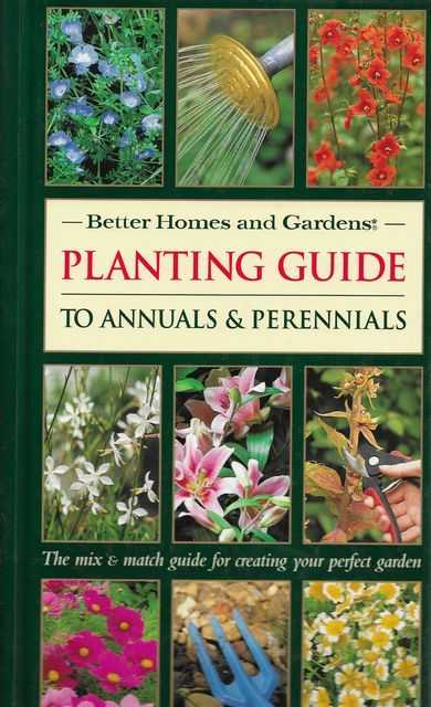 Image for Planting Guide to Annuals and Perennials