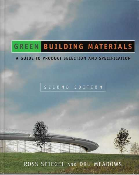 Image for Green Building Materials
