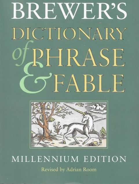 Image for Brewer's Dictionary of Phrase and Fable [Millenium Edition]