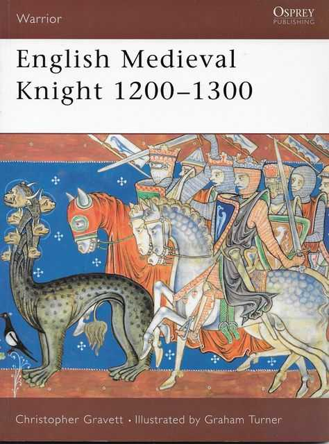 Image for English Medieval Knight 1200-1300 [Warrior 48]