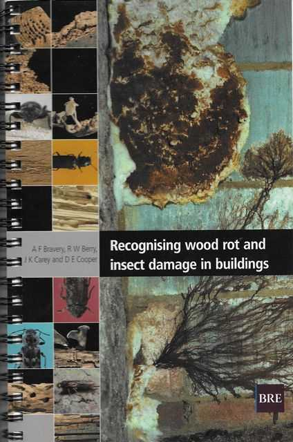 Image for Recognising Wood Rot and Insect Damage in Buildings