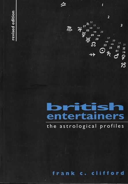 Image for British Entertainers: The Astrological Profiles