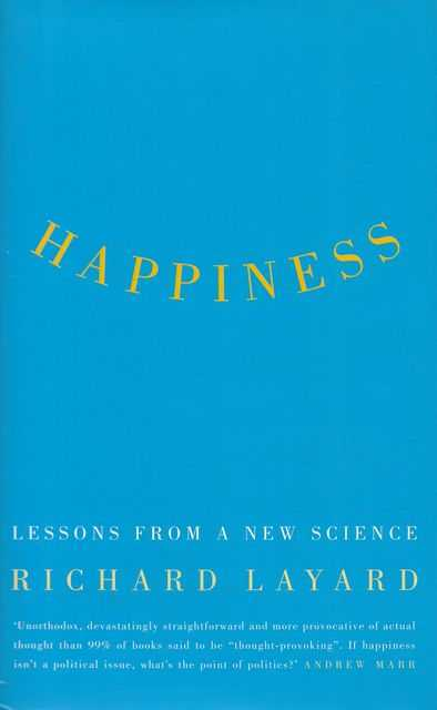 Image for Happiness: Lessons from a New Science