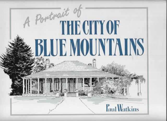 Image for A Portait of the City of Blue Mountains