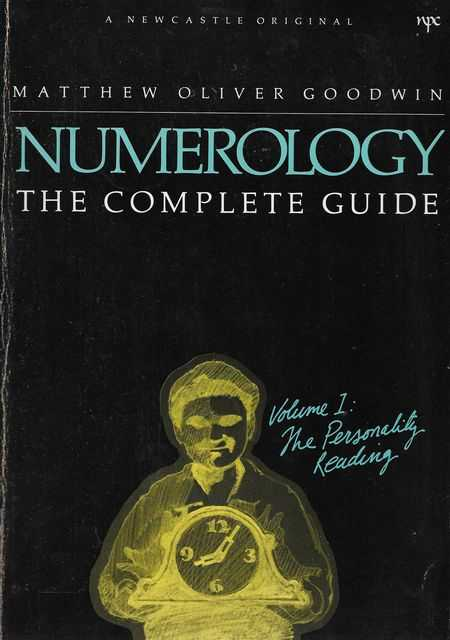 Image for Numerology: The Complete Guide Vol 1: The Personality Reading