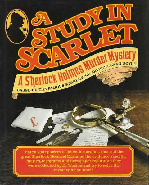 Image for A Study in Scarlet - A Sherlock Holmes Murder Mystery [Based on the Story by Sir Arthur Conan Doyle]
