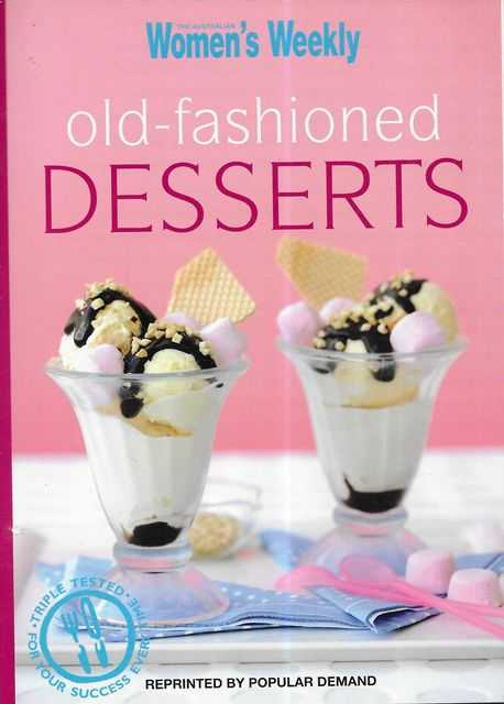Image for Old-Fashioned Desserts