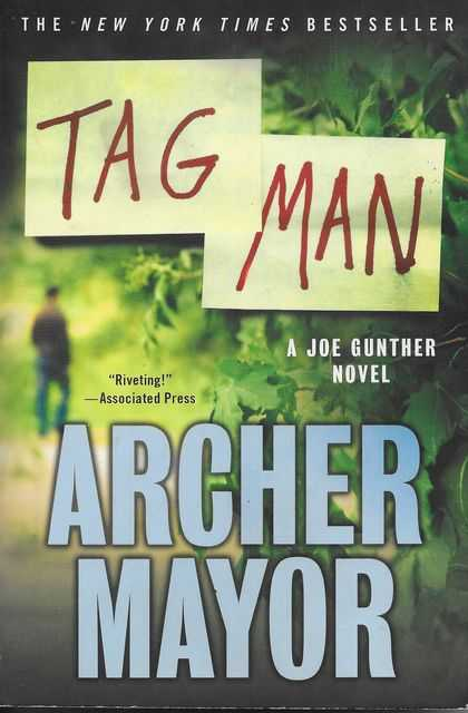 Image for Tag Man [A Joe Gunther Novel]
