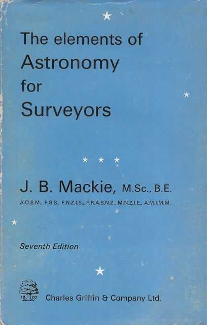 Image for The Elements of Astronomy for Surveyors