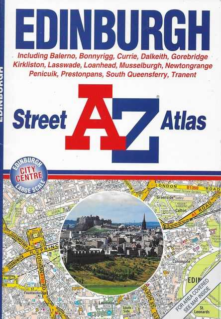 Image for Edinburgh A-Z Street Atlas