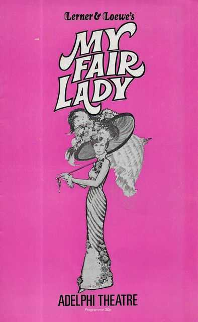 Image for Lerner & Loewe's My Fair Lady [Adelphi Theatre] [Souvenir Program]